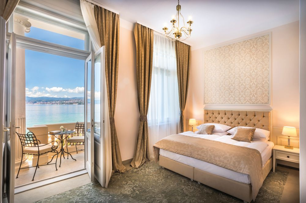 Hotel Palace Bellevue Zimmer